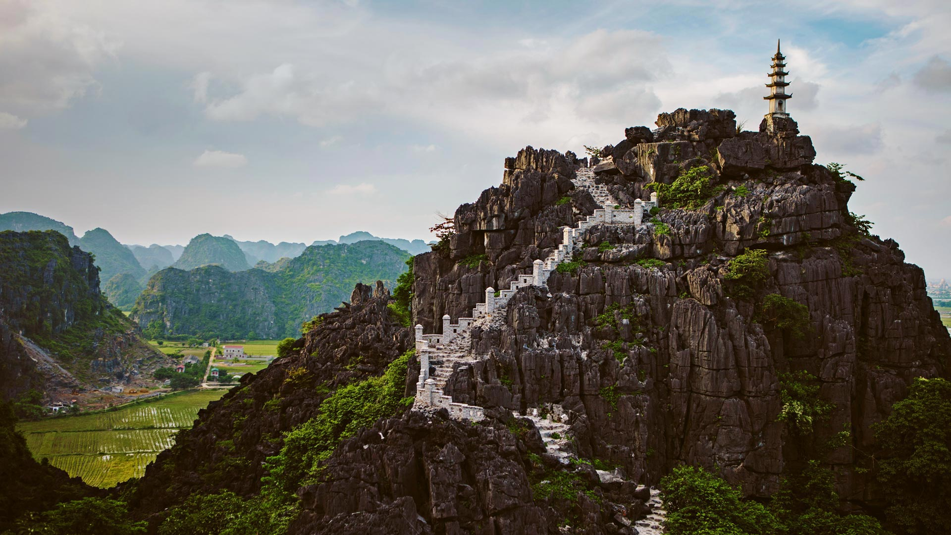 Vietnam Stairs