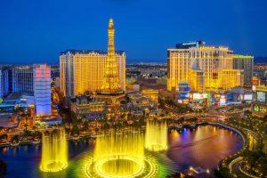 View Across Las Vegas