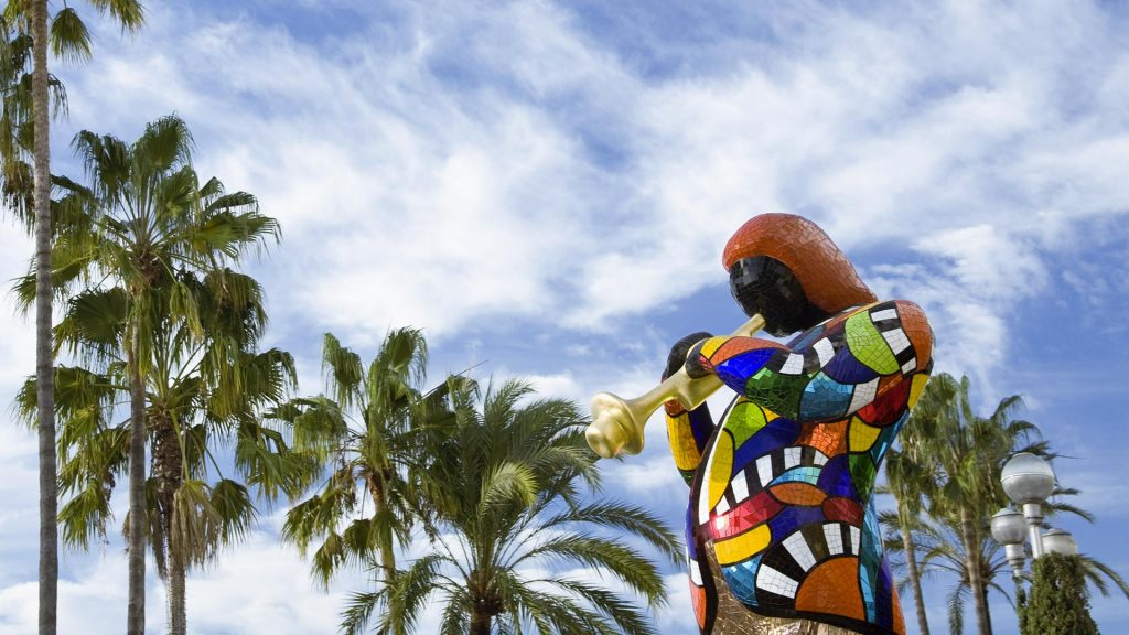 Colorful Statue Nice