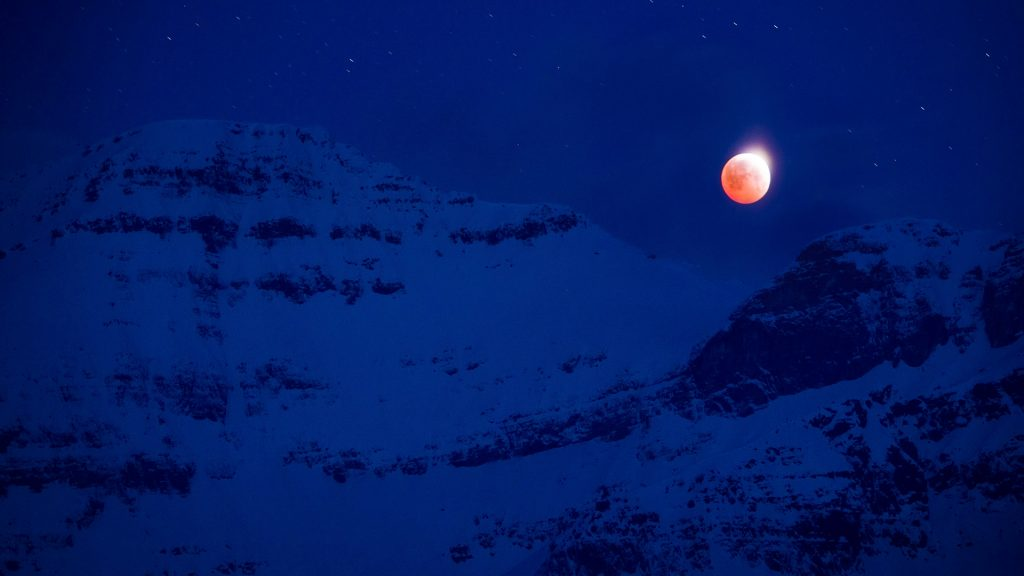 Assiniboine Moon