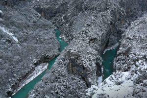 Verdon Gorge Winter