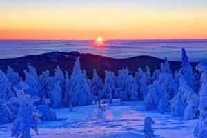 Brocken Winter