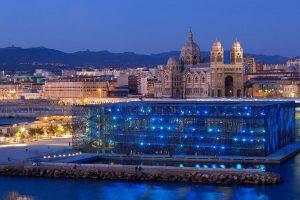 Mucem Marseille Museum Night