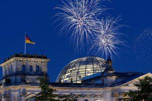 Reichstag Feuerwerk