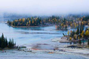Xinjiang Kanas Lake