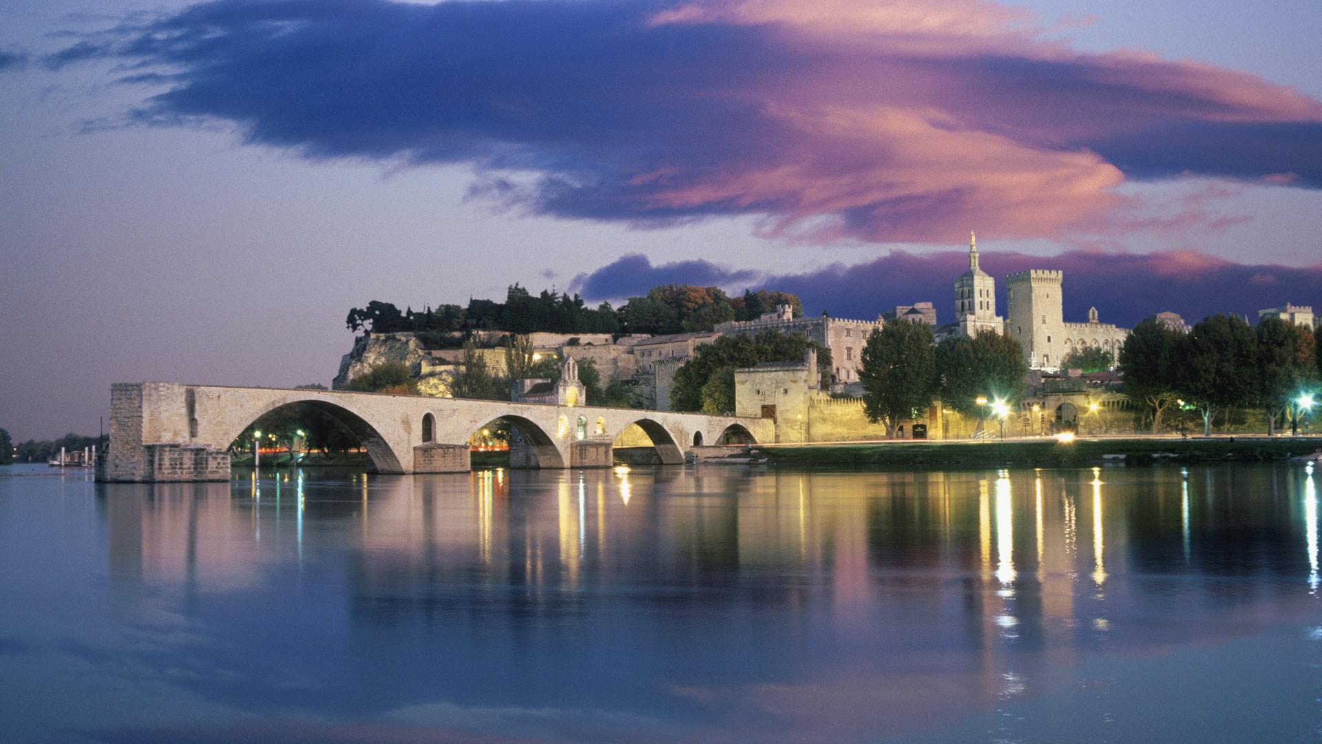 Avignon Sunset