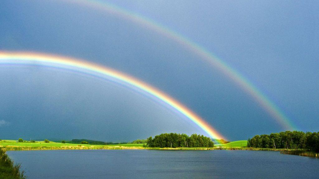Double Rainbow – Bing Wallpaper Download
