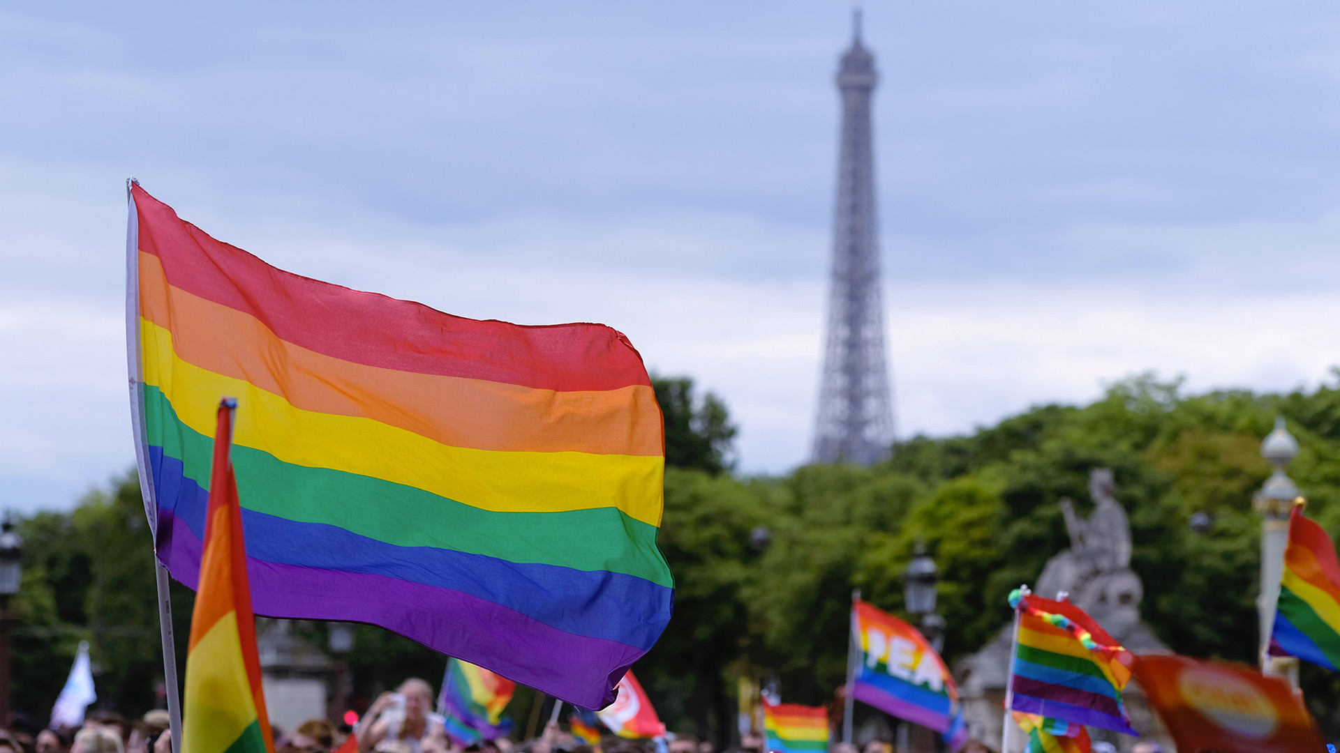 Eiffel Pride Day Paris