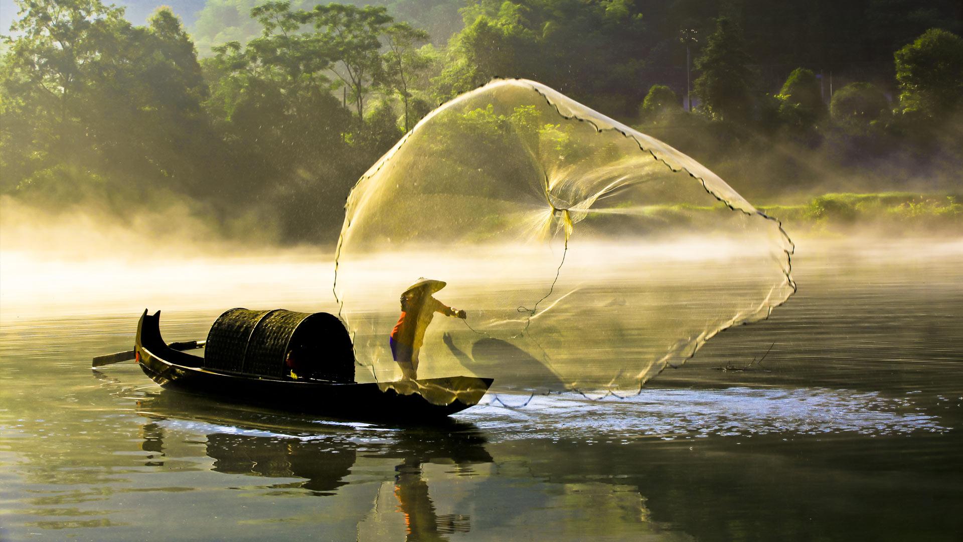 Fishing Xiaodong River