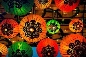 Lanterns Colorful