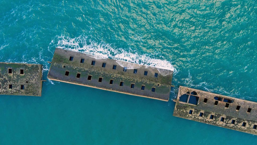 Mulberry Artificial Harbour