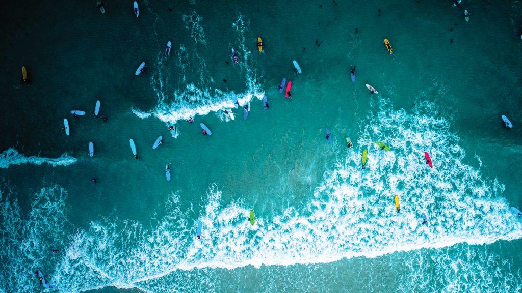 Surfing Cornwall