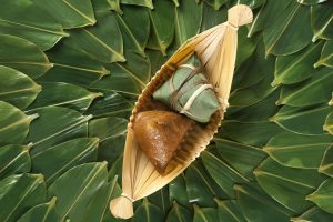 Zongzi And Leaves