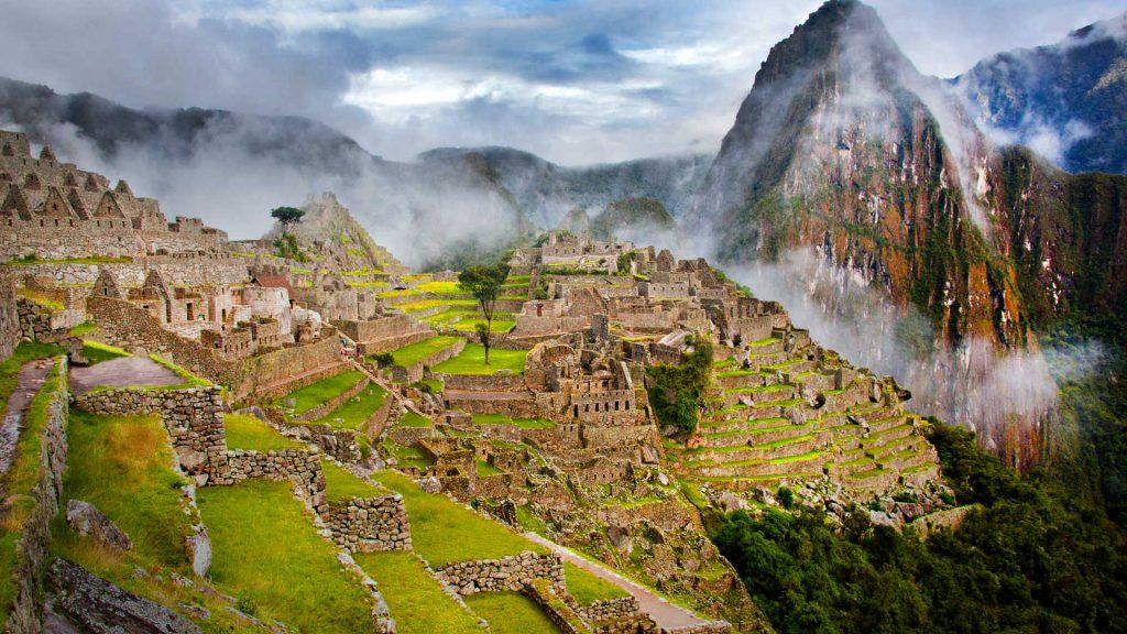 Foggy Picchu
