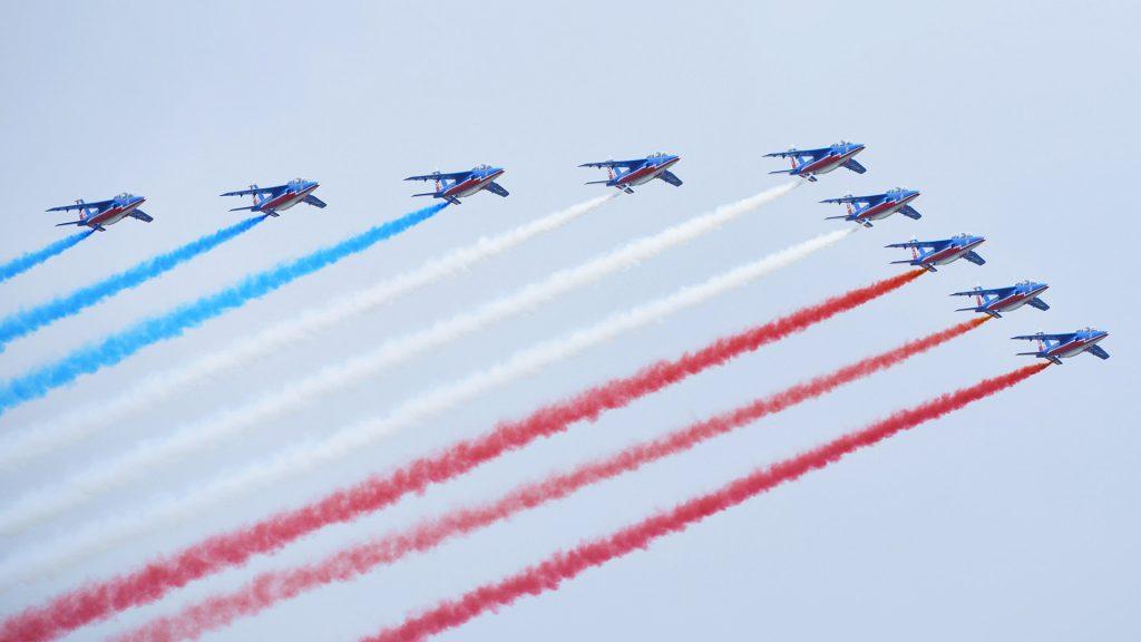 Patrouille France Bastille Day