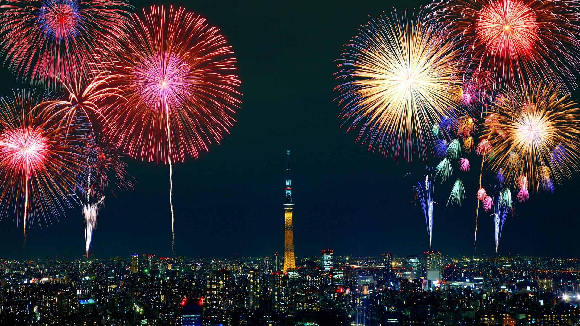 SM fireworks