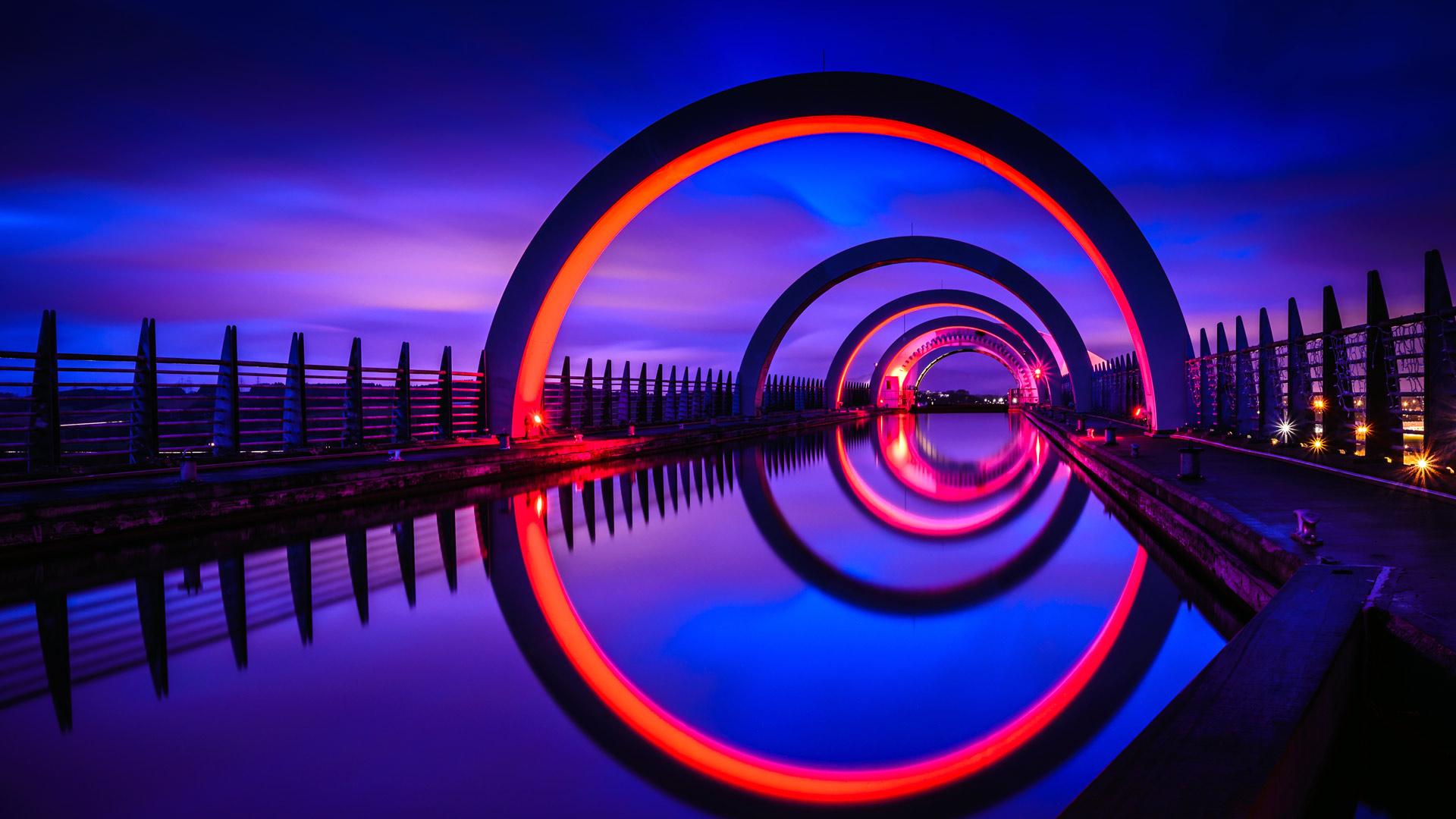 Scotland Falkirk Wheel