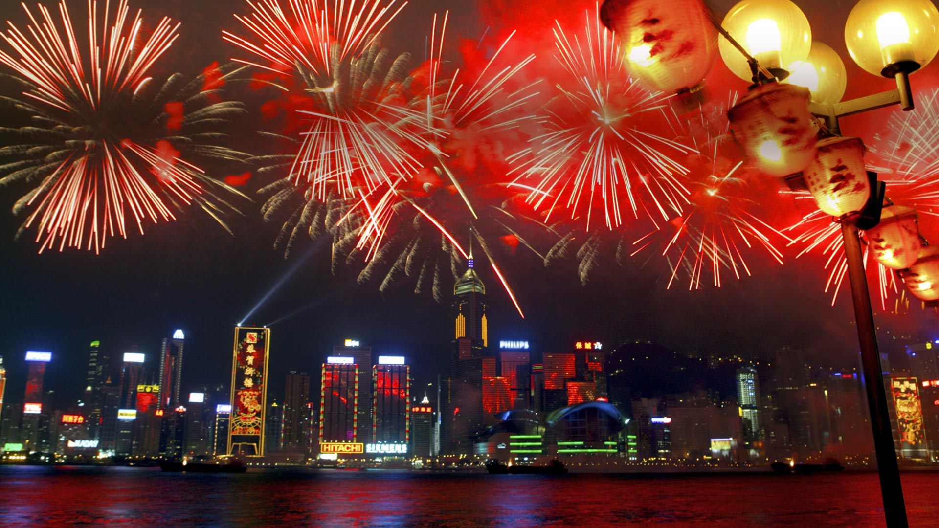 Victoria Harbour Fireworks