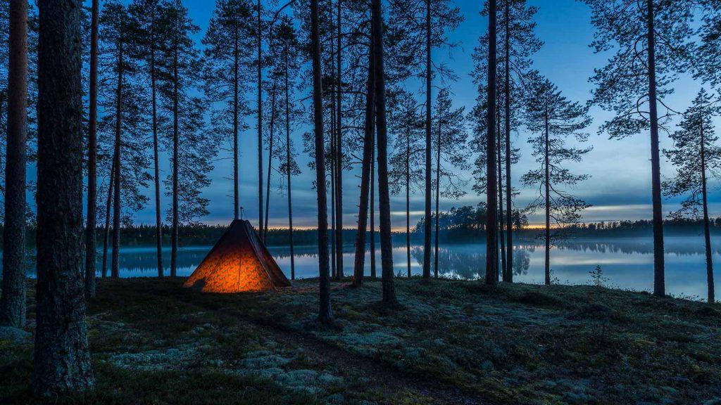 Finland Camping