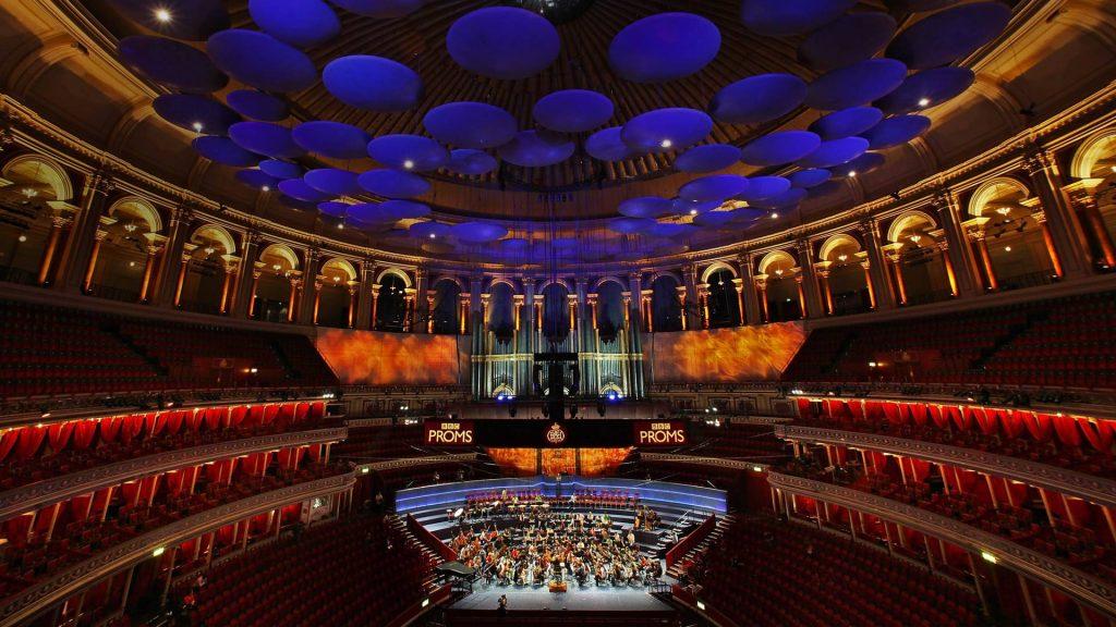 Interior Royal Albert Hall