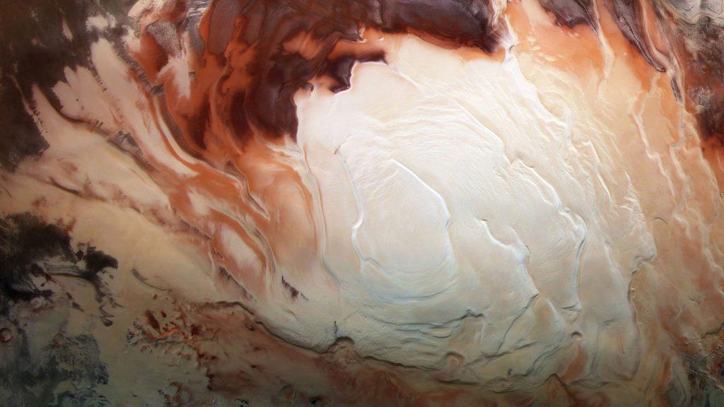 Martian South Pole
