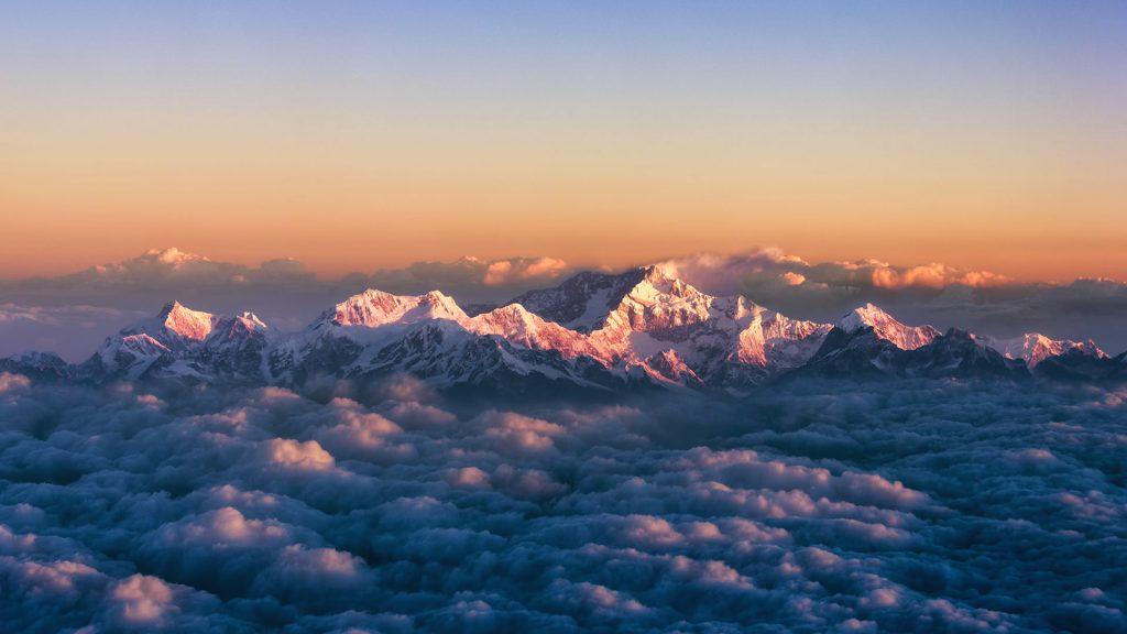 Kanchenjunga Aerial