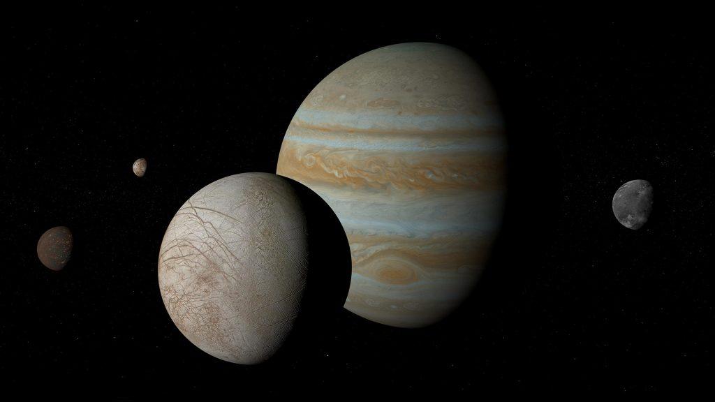 Galileo Moons