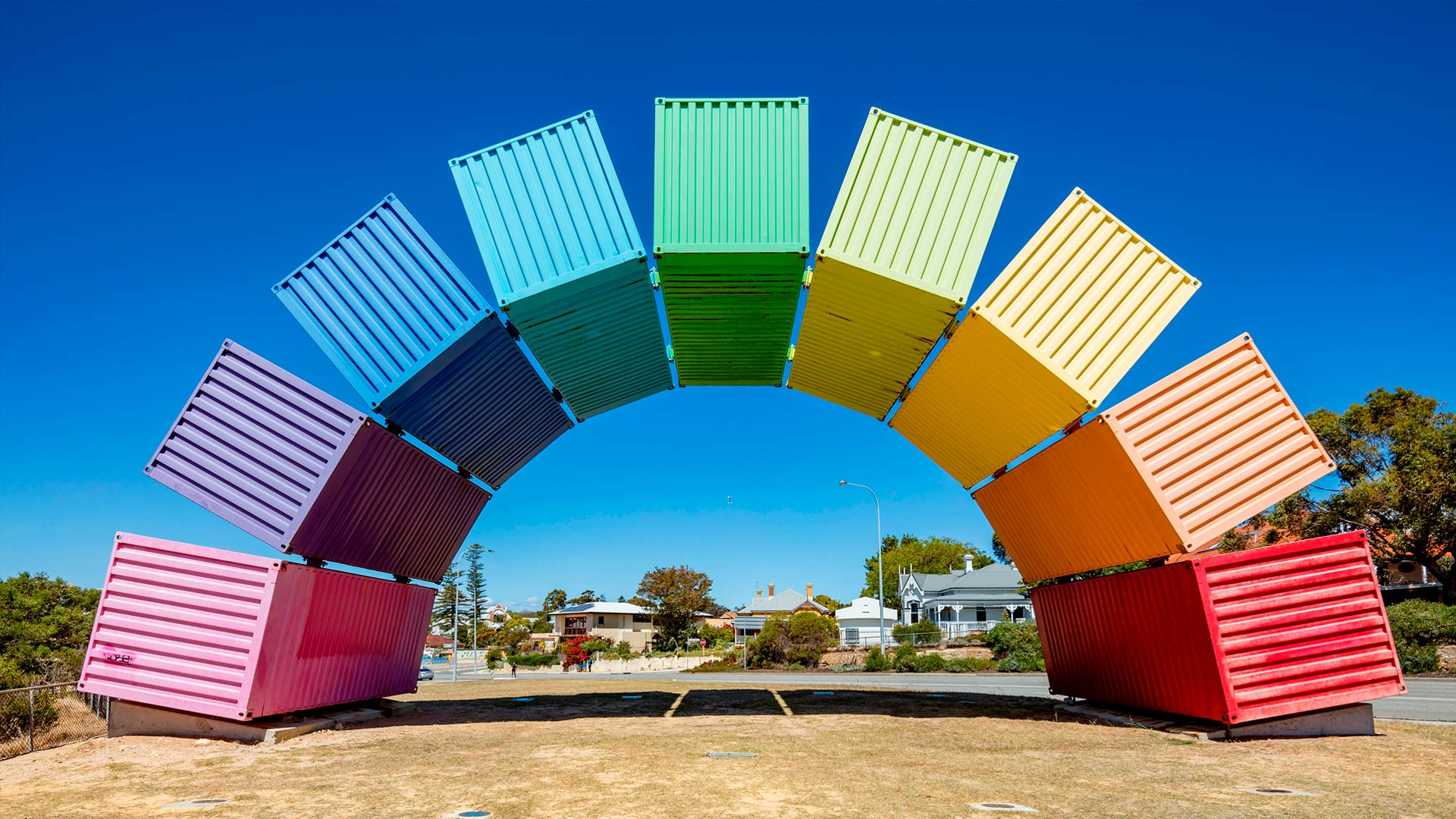Rainbow Containers