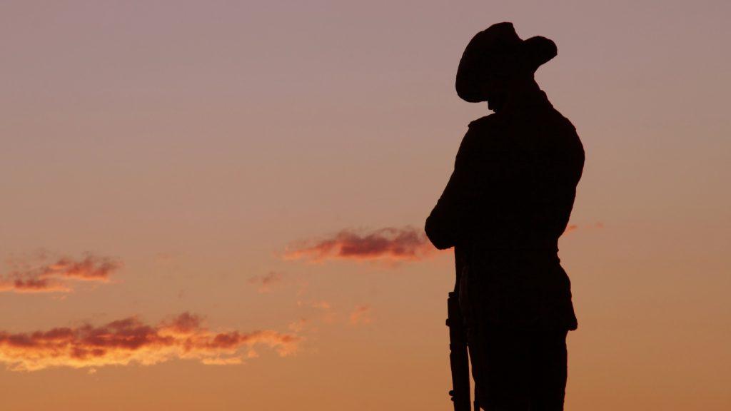 ANZAC Statue
