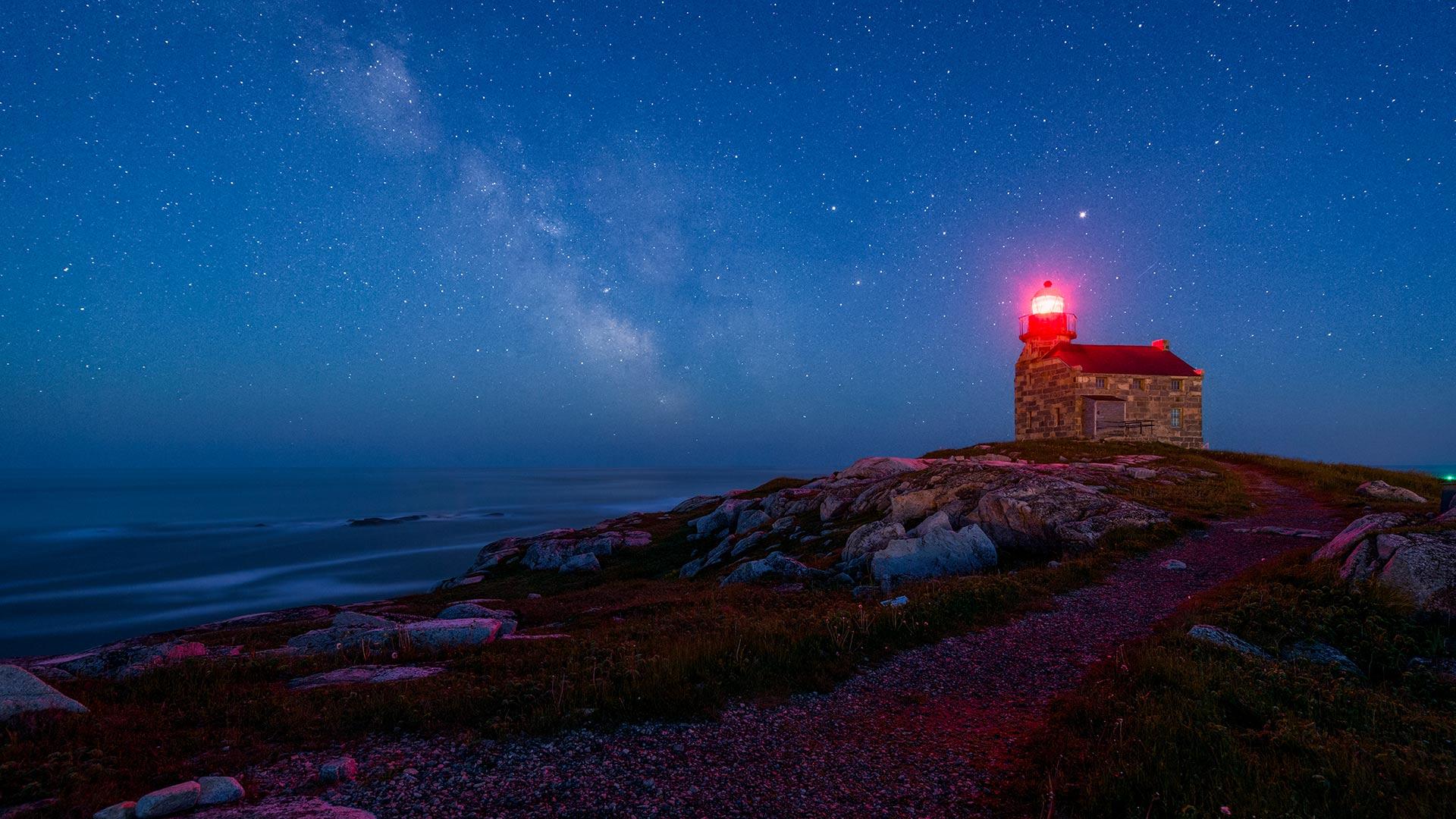 Starry Lighthouse
