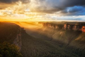 Blue Mountains Sunset