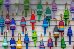 Multicolor Buoys