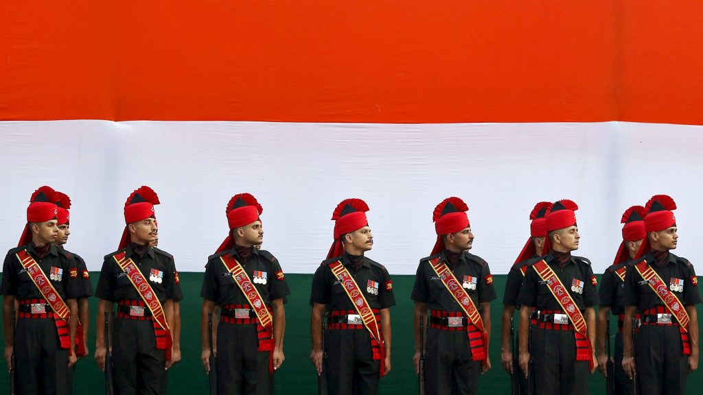 Tricolor Soldiers
