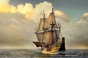 Mayflower Sails