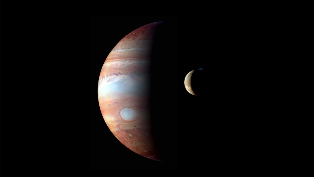 Montage Jupiter Io