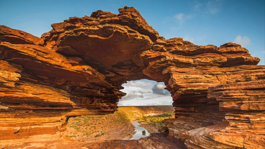 Natures Window Lookout