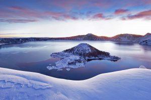 Snow Crater Lake