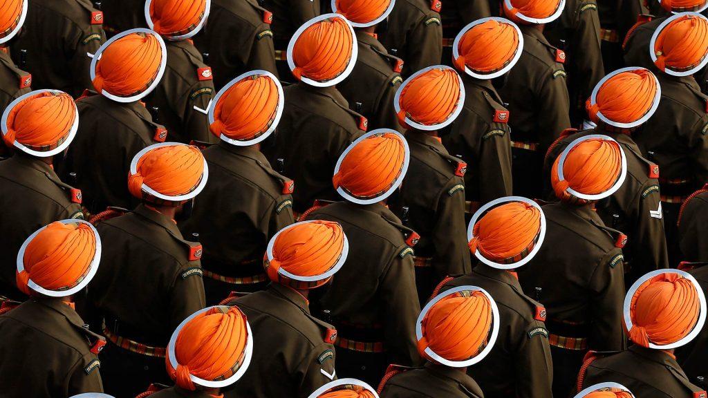 Soldiers Orange Turban