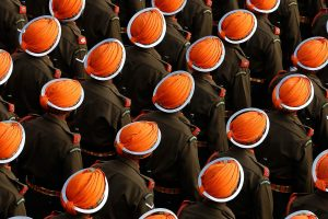 Soldiers Orange Turban