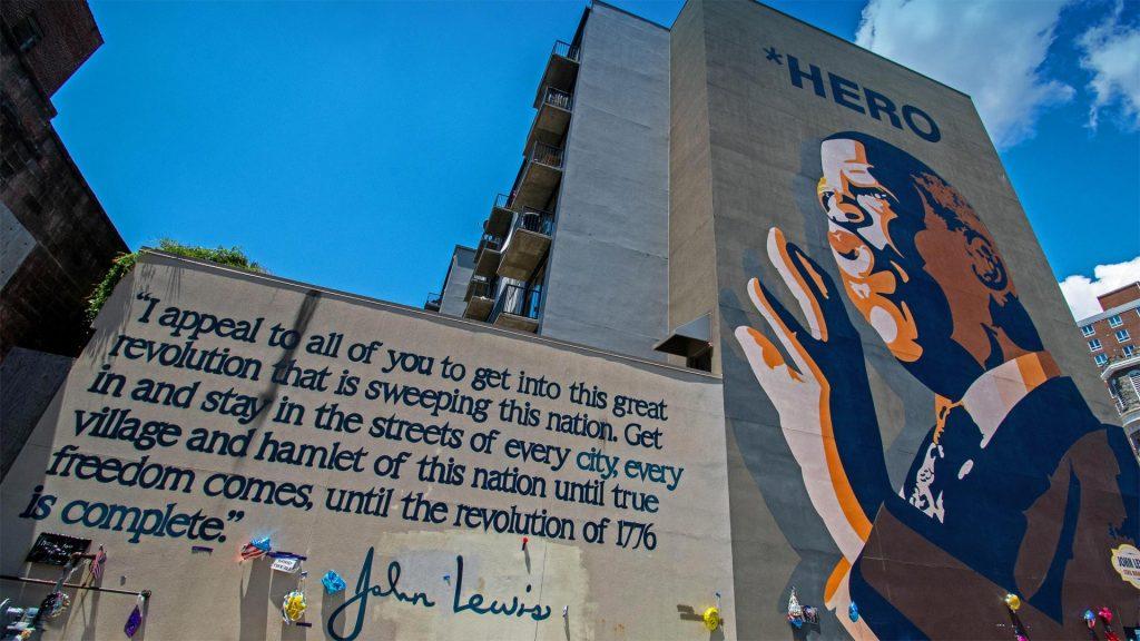 Hero Mural