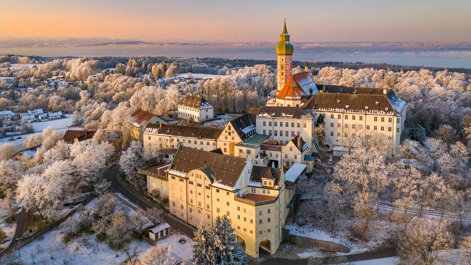 Kloster Andechs Winter