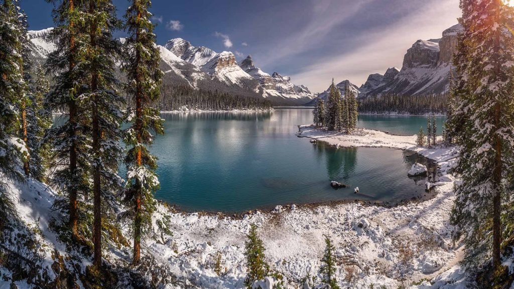 Maligne Winter