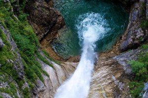 Poellat Wasserfall