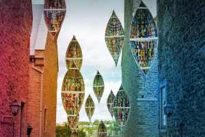 Hanging Canoes
