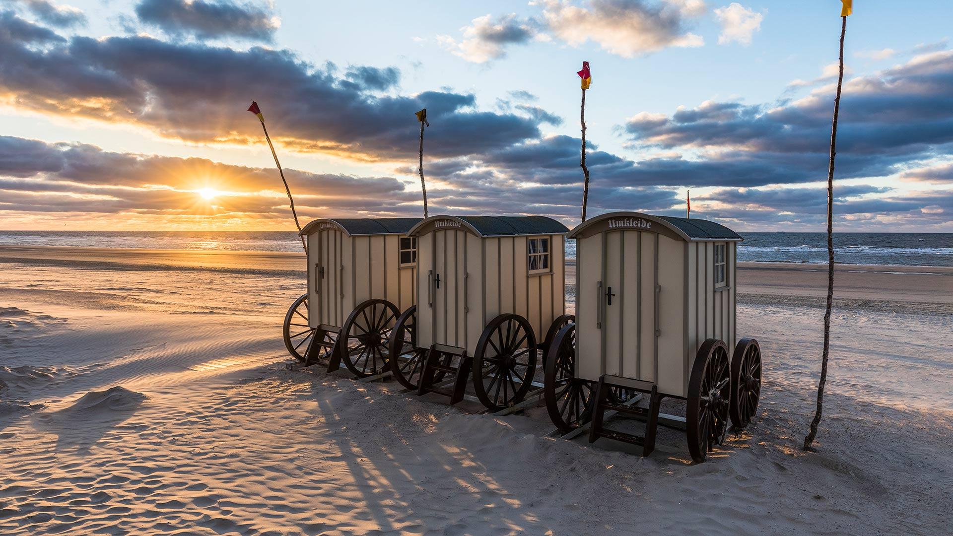 Umkleidewagen Norderney